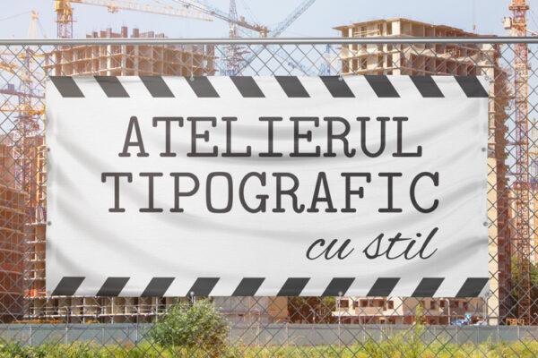 Banner constructii