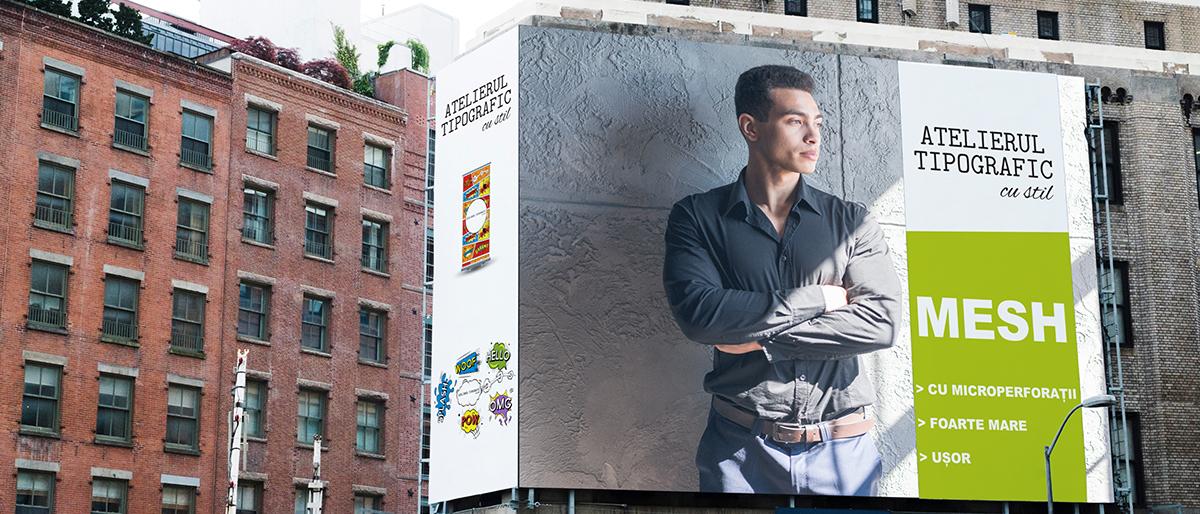Tipar publicitate stradală